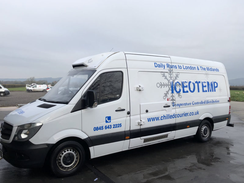 Large van - Temperature Controlled Vehicle