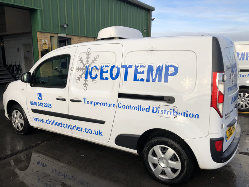 ICEOTEMP - Refrigerated courier