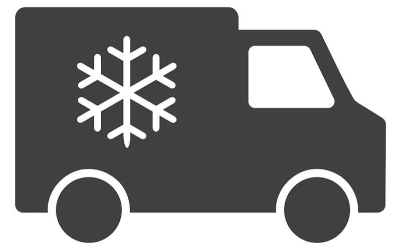 How is the temperature in our vans monitored?